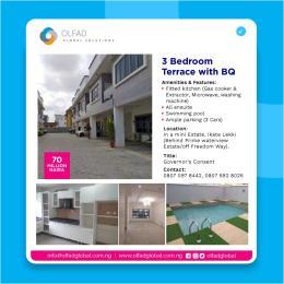 3 bedroom Terraced Duplex House for sale In a mini Estate, Ikate, Lekki (Behind Prime waterview Estate/off Freedom way) Ikate Lekki Lagos
