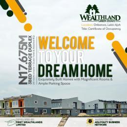 3 bedroom Terraced Duplex House for sale Oribanwa Ibeju-Lekki Lagos