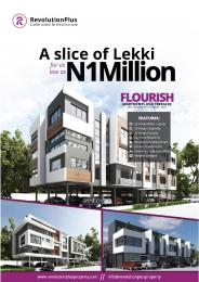 3 bedroom Terraced Duplex House for sale Orchid Road By Chevron Igbo-efon Lekki Lagos