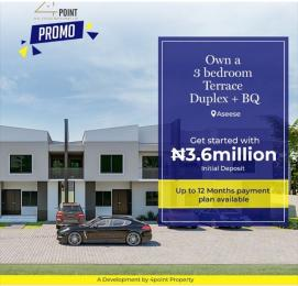 3 bedroom Terraced Duplex House for sale Aseese Ibafo Obafemi Owode Ogun