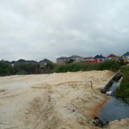 Land for sale facing the lekki epe express way Abraham adesanyan Abraham adesanya estate Ajah Lagos - 0