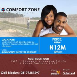 Mixed   Use Land Land for sale  Off Ogombo Road by Abraham Adesanya Roundabout Okun Ajah Ajah Lagos - 4