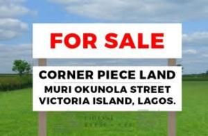 Commercial Land Land for sale muri okounola Victoria Island Extension Victoria Island Lagos