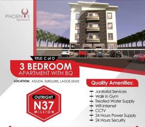 Detached Duplex House for sale 34, Bolaji Banwo Street, Aguda, Surulere  Aguda Surulere Lagos