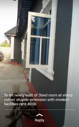3 bedroom Flat / Apartment for rent revival street adedayo oluyole extension Oluyole Estate Ibadan Oyo