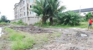 Residential Land Land for sale Behind Stadium,  Alaka Estate Surulere Lagos