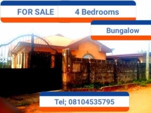 4 bedroom Detached Bungalow House for sale Peace Ogbeifun Aruogba off airport road  Oredo Edo