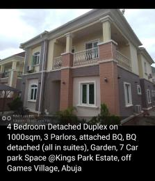 4 bedroom Detached Duplex House for sale Games village Kaura (Games Village) Abuja