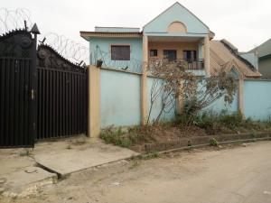 4 bedroom Detached Duplex House for rent In an estate at oko oba agege  Oko oba Agege Lagos