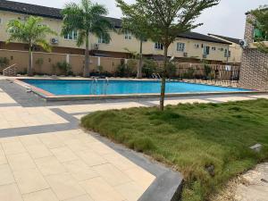 4 bedroom Terraced Duplex House for rent Hitech road Lekki Gardens estate Ajah Lagos