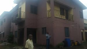 4 bedroom Blocks of Flats House for sale Ewa-Nla school oshodi before charity bus Oshodi Expressway Oshodi Lagos