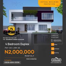4 bedroom Terraced Duplex House for sale Ibeju Agbe Town Ibeju-Lekki Lagos