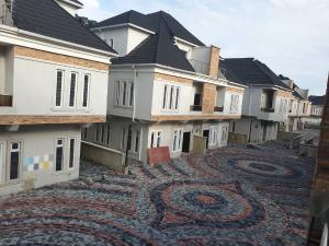 4 bedroom Shared Apartment Flat / Apartment for sale 3& 5 folashade street,   Oral estate lekki. The oral estate is beside Enyo fuel station.close to lekki conservative center. Ikota Lekki Lagos