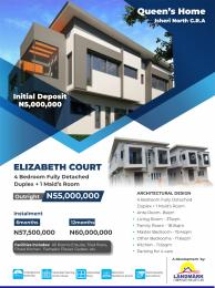 4 bedroom Detached Duplex House for sale Queens home,Isheri North G R A. Lagos Isheri Egbe/Idimu Lagos
