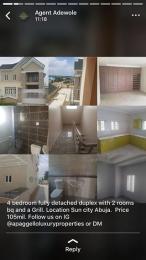 4 bedroom Detached Duplex House for sale Galadima Abuja Galadinmawa Abuja