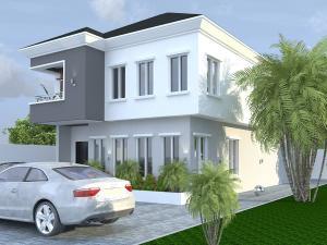 5 bedroom Detached Duplex House for sale Chevron Alternative Road, Adjacent to Atlantic Mall chevron Lekki Lagos