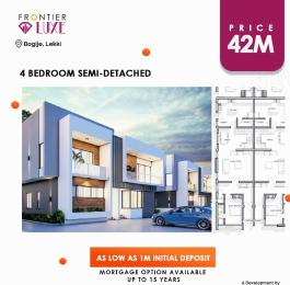 4 bedroom Semi Detached Duplex House for sale Bogije Lekki Lagos