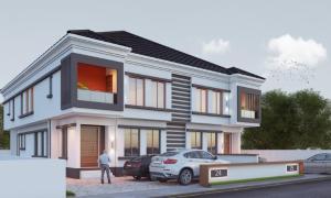 5 bedroom Semi Detached Duplex House for sale Chevron drive. Alternative Road Adjacent to Atlantic Mall chevron Lekki Lagos