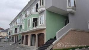 4 bedroom Terraced Duplex House for rent Chevron road,lekki expressway chevron Lekki Lagos