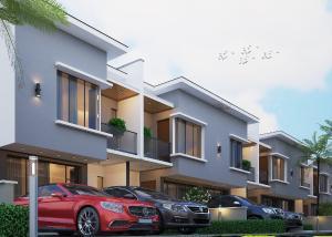 4 bedroom Terraced Duplex House for sale Ogombo road Lekki Phase 2 Lekki Lagos