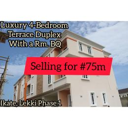 4 bedroom Terraced Duplex House for sale Inside Madiba Estate, Lekki Phase 1 Ikate Lekki Lagos