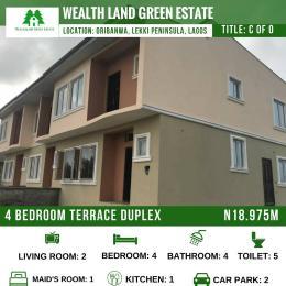 4 bedroom House for sale Oribanwa  Awoyaya Ajah Lagos