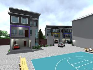 4 bedroom Terraced Duplex House for sale Harmony Estate Isheri North Ojodu Lagos