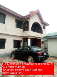 10 bedroom Blocks of Flats House for sale dele kuti  Ebute Ikorodu Lagos