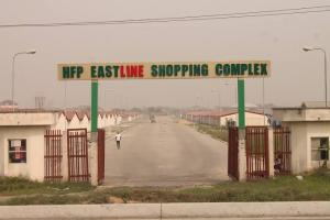 Shop Commercial Property for sale HFP East line Shopping Complex, Abraham Adesanya Roundabout along Lekki-Epe expressway,, Ajah Lagos