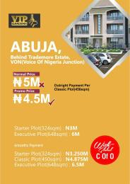 Land for sale VON(voice of nigeria) junction Sub-Urban District Abuja