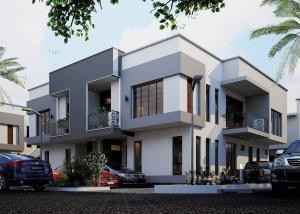 4 bedroom Terraced Duplex House for sale Foreshore Estate Ogudu Ogudu Lagos