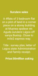 10 bedroom Boys Quarters Flat / Apartment for sale Muyiwa Opaleye Street. Aguda Surulere Lagos
