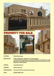 3 bedroom Blocks of Flats House for sale Orilowo ejigbo Lagos Orilowo Ejigbo Lagos