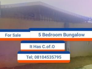 5 bedroom Terraced Bungalow House for sale Giwa-Amu, Airport road  Oredo Edo