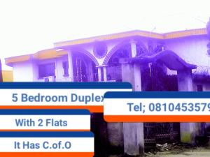 5 bedroom House for sale Etete Road, Ojomoh  Oredo Edo