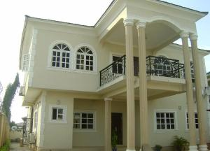 Semi Detached Duplex House for sale 5 bedroom duplex & 2-bedroom at Oluyole estate Ibadan Ibadan Oyo