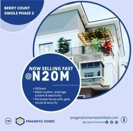 5 bedroom Semi Detached Duplex House for sale OMOLE PHASE 2 EXTENSION,  Magodo Isheri Ojodu Lagos