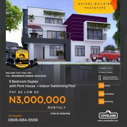 5 bedroom Terraced Duplex House for sale Ibeju Agbe Town Ibeju-Lekki Lagos