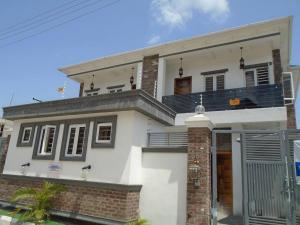 5 bedroom House for sale obire street Osapa london Lekki Lagos - 0