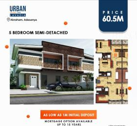 5 bedroom Semi Detached Duplex House for sale URBAN PRIME LAVADIA Abraham adesanya estate Ajah Lagos