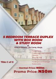 5 bedroom Terraced Duplex House for sale Life Camp in Abuja close to Life Camp Police Station Life Camp Abuja