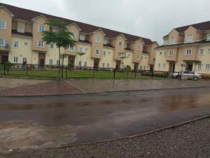 Terraced Duplex House for sale PTECH Estate, close to Life Camp Police Station.  Life Camp Abuja