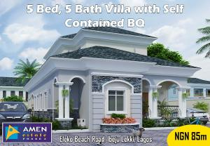5 bedroom Massionette House for sale Amen Estate Eleko Ibeju-Lekki Lagos