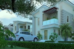 5 bedroom House for sale Regal Estate is sharing fence with VGC, VGC Lekki Lagos - 2