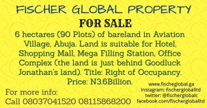Mixed   Use Land Land for sale Aviation Village Central Area Abuja