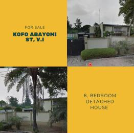 6 bedroom Commercial Property for sale Kofo Abayomi Victoria Island Lagos