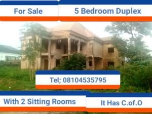 6 bedroom Terraced Duplex House for sale Ugbor village road, Lucky way Oredo Edo