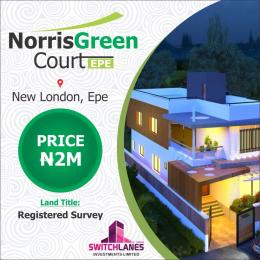 Residential Land Land for sale Norris Green Courts Epe Lagos