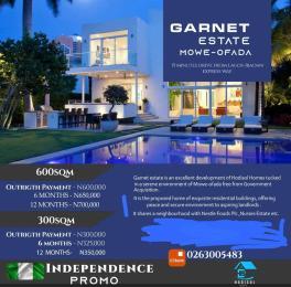 Mixed   Use Land Land for sale Garnet Estate  Mowe Obafemi Owode Ogun