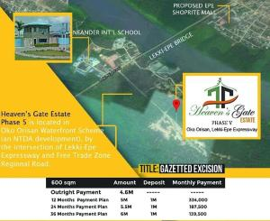 Residential Land Land for sale Oko-Orisan, Off Lekki - Epe Express Way Free Trade Zone Ibeju-Lekki Lagos